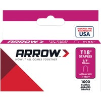 186 Arrow T18 Cable Staple cable staple