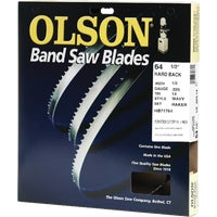 HB71764DB Olson Hard Back Metal Cutting Band Saw Blade 71764, 71764 Olson Band Saw Blade