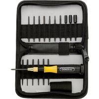 63518 General Tools 18-Piece Precision Screwdriver Set general tools