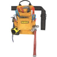 DG5333 DeWalt 10-Pocket Suede Carpenters Nail & Tool Bag DG5333, DeWalt 10-Pocket Suede Carpenters Nail & Tool Bag