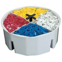 "1152 2-1/2"" Full Round Bucket Tray bucket tray"