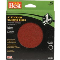 380423 Do it Best Stick-On Sanding Disc disc sanding