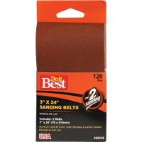380539 Do it Best 2-Pack Sanding Belt belt sanding