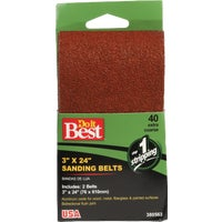 380563 Do it Best 2-Pack Sanding Belt belt sanding