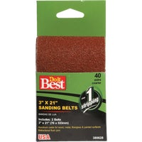 380628 Do it Best 2-Pack Sanding Belt belt sanding