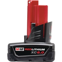 48-11-2460 Milwaukee M12 REDLITHIUM XC6.0 Li-Ion Tool Battery