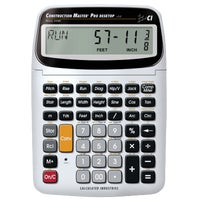 44080 Calculated Industries Construction Master Pro Desktop Project Calulator calculator project