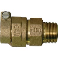 74753-22 B A Y McDonald Brass MIPT Polyethylene Pipe Connector 74753-22, 74753-22 Polyethylene Pipe Connector
