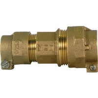 74758-22 A A Y McDonald Brass CTS Polyethylene Pipe Connector 74758-22, 74758-22 Polyethylene Pipe Connector (CTS X CTS)