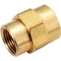 756119-0802 Yellow Brass Reducing Coupling brass coupling