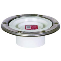 888PTMPK Sioux Chief PVC Closet Flange With Knockout 888PTMPK, 888PTMPK PVC Closet Flange With Knockout