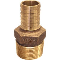 RBMANL7510 Low Lead Brass Hose Barb Reducing Adapter RBMANL7510, Low Lead Brass Hose Barb Reducing Adapter
