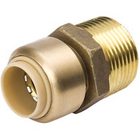 630-134HC Proline Brass Push Fit x MPT Adapter 630-134HC, Proline Brass Push Fit x MPT Adapter