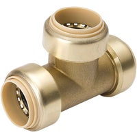632-004HC ProLine Brass Push Fit Tee 632-004HC, ProLine Brass Push Fit Tee