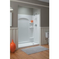 "72175100-0 Sterling Ensemble Curved Shower End Wall Set 72175100-0, Ensemble 60"" X 30"" Curved End Wall Set"