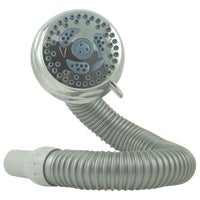 NSL-603E Waterpik Flex 6-Spray 1.8 GPM Fixed Showerhead fixed flex showerhead waterpik