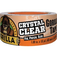 6060002 Gorilla Crystal Clear Duct Tape duct tape