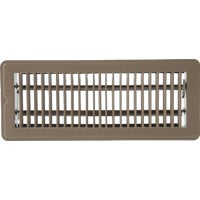 1FL0212BR-NH Home Impressions Steel Floor Register floor register