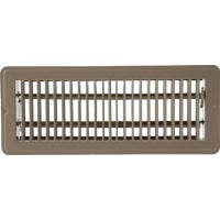 1FL0412BR-NH Home Impressions Steel Floor Register floor register