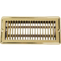 1FL0410BB-NH Home Impressions Stamped Brass Floor Register floor register
