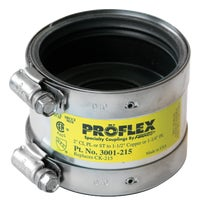 P3001-22 Proflex PVC Shielded Coupling to Copper coupling shielded