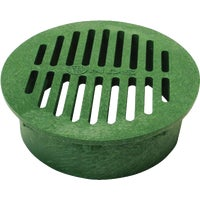 20 NDS 8 In. Green Round Grate grate round
