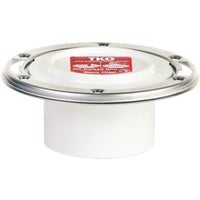 884-PTM Sioux Chief PVC Total Knockout Closet Flange With Stainless Steel Ring 884-PTM, 884-PTM PVC Total Knockout Flange With Stainless Steel Ring