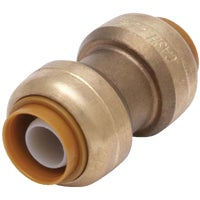 U020LFA SharkBite Push-to-Connect Straight Brass Coupling connec push sharkbite to