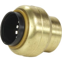 U518LFA SharkBite Push-to-Connect Brass End Cap connec push sharkbite to