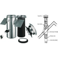 206621 SELKIRK Sure-Temp Pitched Ceiling Chimney Support Kit 206621, SELKIRK Sure-Temp Pitched Ceiling Chimney Support Kit