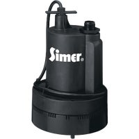 2355 Simer 1/3 HP Submersible Utility Pump