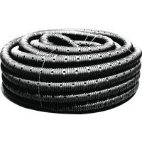 4020100 Advanced Basement 4 In. X 100 Ft. Corrugated Drain Pipe advanced basement corrugated polyethylene
