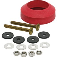 6102 Fluidmaster Toilet Bolts and Tank To Bowl Gasket Kit 6102, Toilet Bolts And Tank To Bowl Gasket Kit