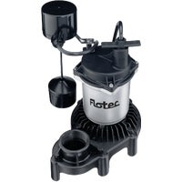 FPZS33V Flotec 1/3 HP Submersible Sump Pump