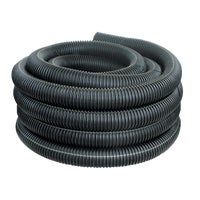 451-100 Advanced Basement 4 In. X 100 Ft. Corrugated Drain Pipe advanced basement corrugated polyethylene