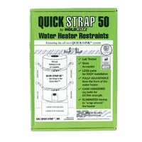 QS-50 Quick Strap Water Heater Restraining Strap QS-50, Earthquake Bracket For Water Heater