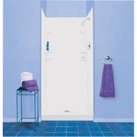 247WHT Mustee Durawall Model 247 Shower Wall Set durawall mustee