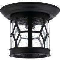 IOL207BK Home Impressions Sonoma Flushmount Outdoor Ceiling Light Fixture IOL207BK, IOL207BK Home Impressions Sonoma Flushmount Outdoor Ceiling Fixture