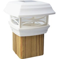 91254 Moonrays LED Solar Post Cap cap post
