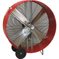 BF48BD RED Ventamatic Maxx Air Belt Driven Industrial Drum Fan drum fan