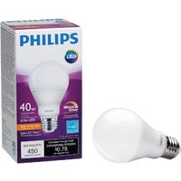 479428 Philips Warm Glow A19 Medium Dimmable LED Light Bulb