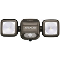 MB3000-BRN-01-04 Mr. Beams High Performance Battery Operated LED Security Light Fixture