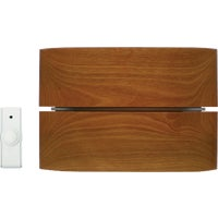 WD-2830 IQ America Step-Up Wood Wireless Door Chime