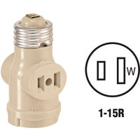 0041403I Leviton Socket Adapter adapter socket