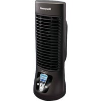 HTF210B Honeywell QuietSet 13 In. Mini Tower Table Fan fan honeywell quietset table