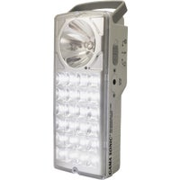 "DL-972LS Gama Sonic Rechargeable LED Emergency Light Wood Deck 72""W X 48""D X 5/8""Tk"