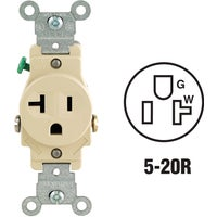S11-5801-KIS Leviton Commercial Grade Shallow Single Outlet outlet single