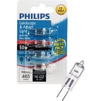 417105 Philips T4 12V GY6.35 Halogen Special Purpose Light Bulb philips t4