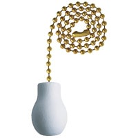 77014 Westinghouse Pull Chain With Wooden Knob chain pull
