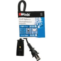 293 Woods Mini Plug Appliance Cord appliance cord